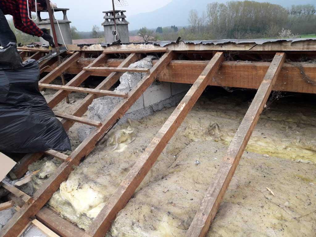 Isolation ITE extérieur bardage et toiture Voiron Isère 38