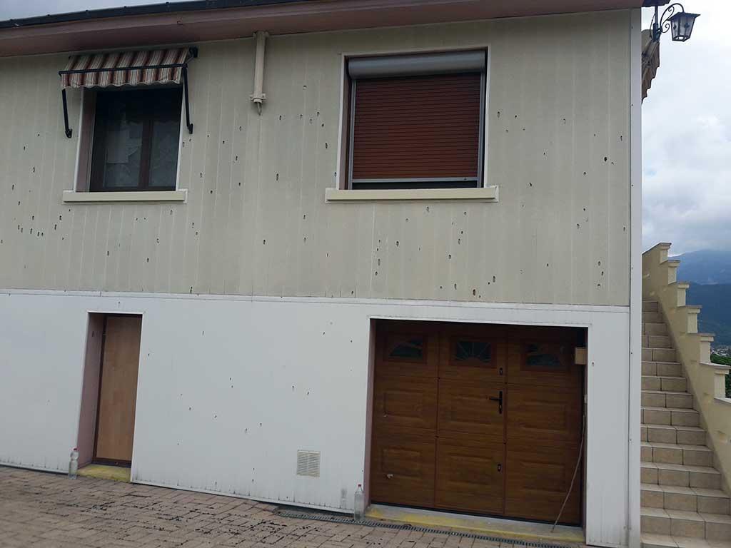 Isolation Mur Exterieur Renovation isolation ite extérieur bardage et toiture voiron isère 38